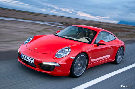 Porsche 911 will be unveiled at Frankfurt