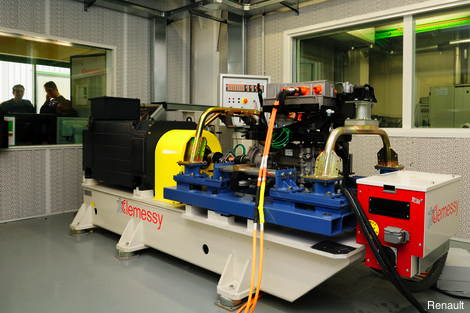 Electric test benches prove reliability of EV systems
