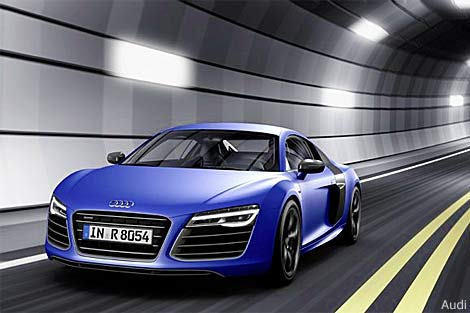Audi R8 gains dual clutch transmission