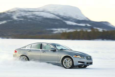 All-wheel-drive Jaguar